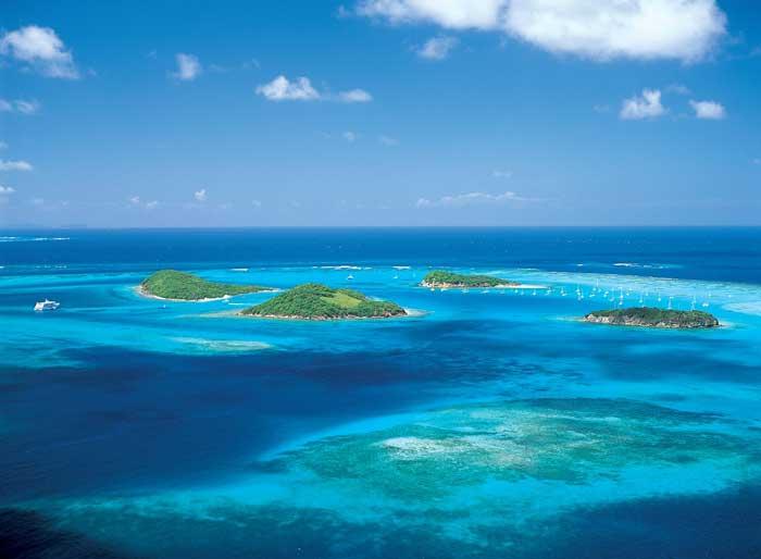 Tobago Cays, Granadinas