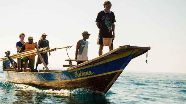bote ballenero de Lamalera