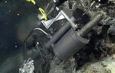 brazo robótico de un ROV