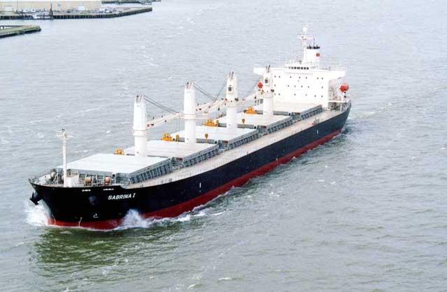 buque de transporte marítimo