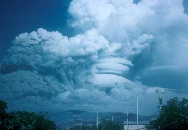 erupción volcán Pinatubo 15 junio 1991