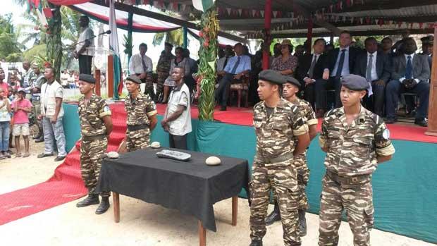 lingote de plata del capitán Kidd presentado en Madagascar