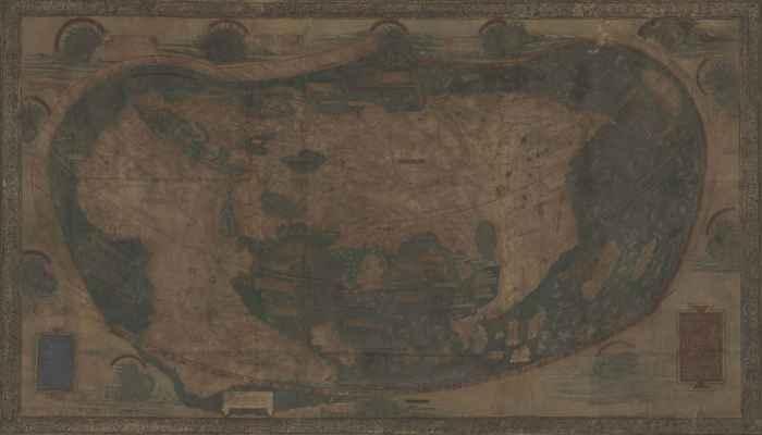 mapa original de Henricus Martellus