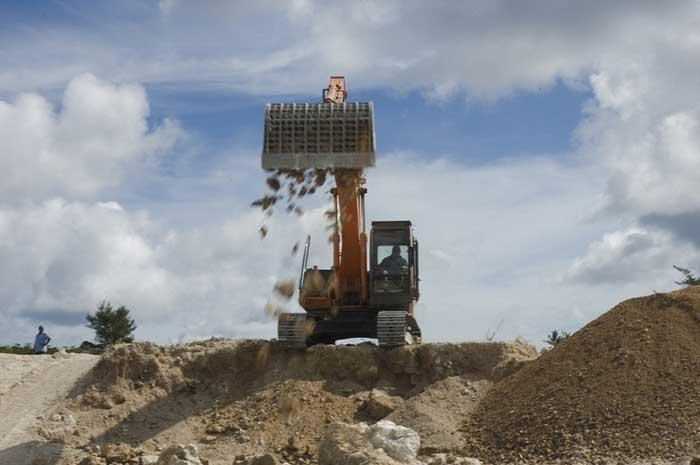 minería de fosfato en Nauru