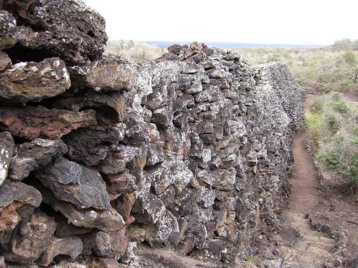 Muro de las Lágrimas, Islas Galápagos