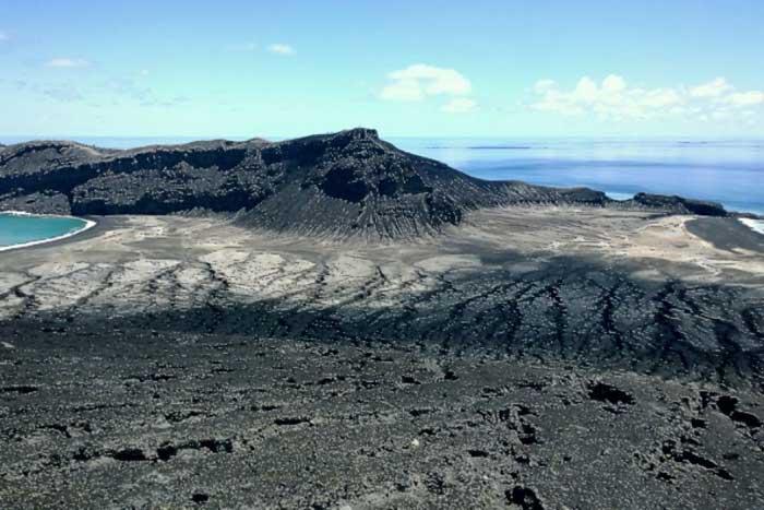 nueva isla en Tonga