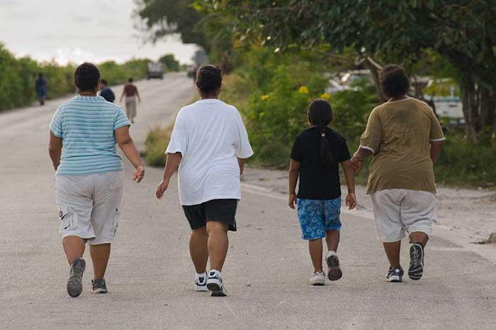 ejemplo de obesidad en Nauru