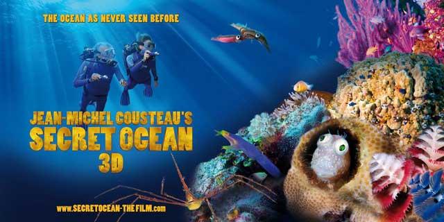 Jean-Michel Cousteau's Secret Ocean 3D
