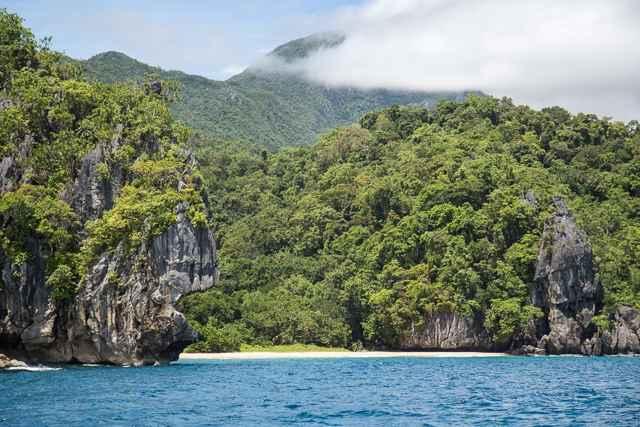 paisaje de Palawan, Filipinas