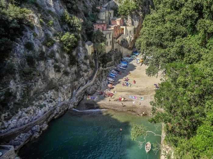 playa de Furore, costa de Amalfi