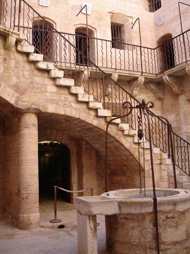 pozo en el Castillo de If