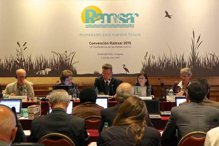Convención de Ramsar sobre los Humedales, Punta del Este - Uruguay