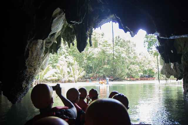 salida del río subterráneo de Puerto Princesa
