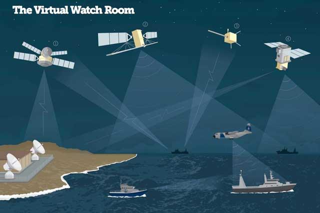 seguimiento de la pesca pirata por satélite