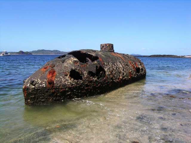 submarino en San Telmo, Panamá
