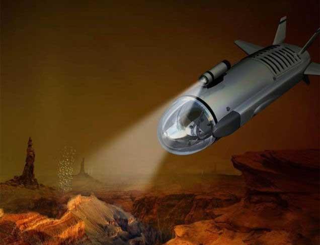 submarino explora mares Titán