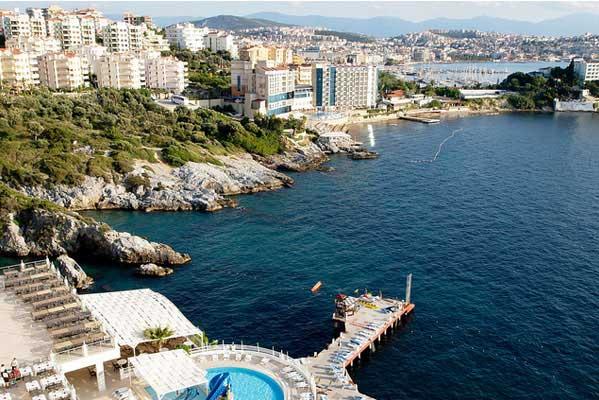 turismo en las costa de Turquía