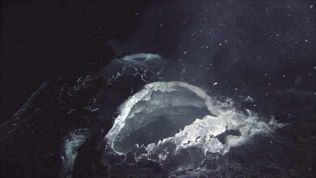 volcán submarino Axial
