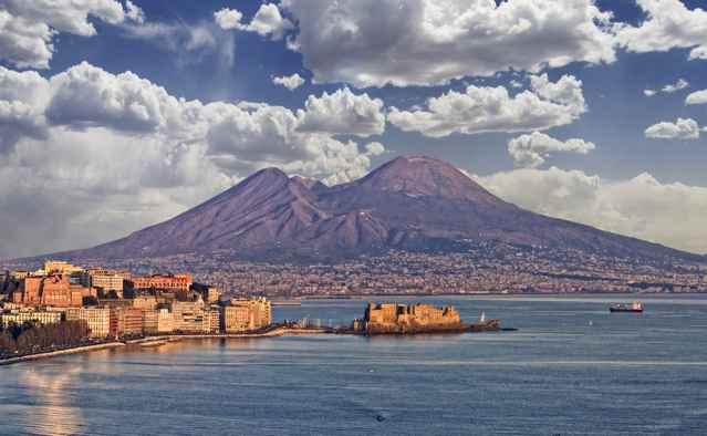 volcanes de Nápoles