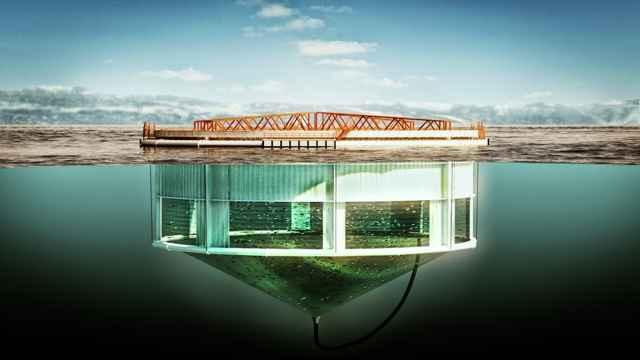 Aquatraz, diseño