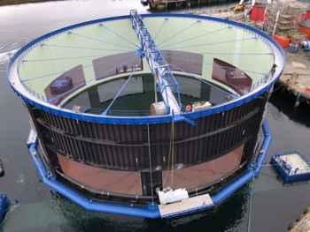 Aquatraz, vista superior