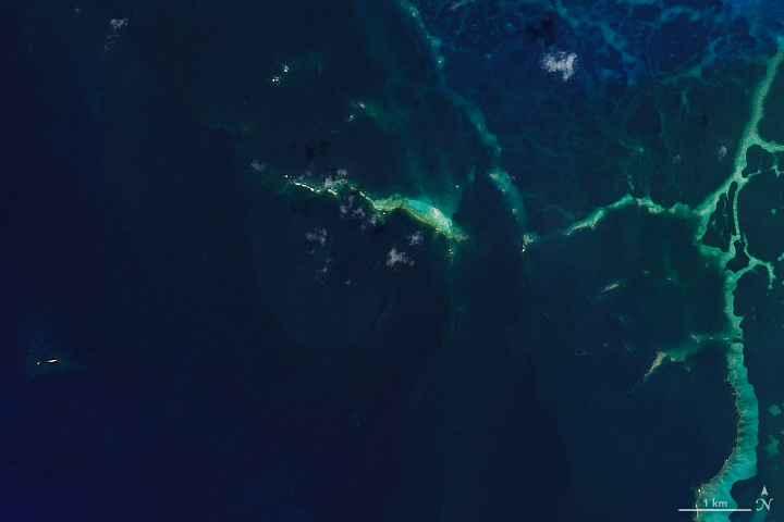 East Island desaparecida en octubre de 2018