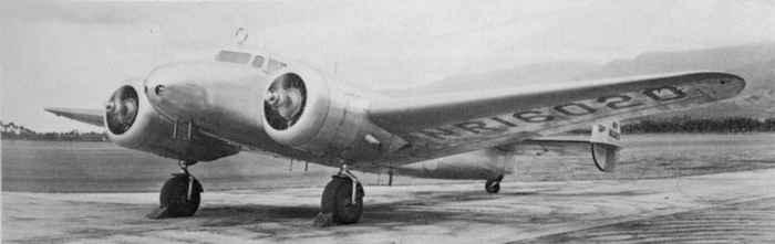 Lockheed Model 10-E Electra de Amelia Earhart