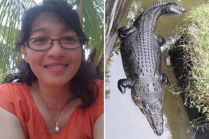cocodrilo Merry y Deasy Tuwo