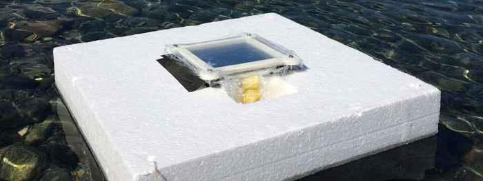 dispositivo de desalinización