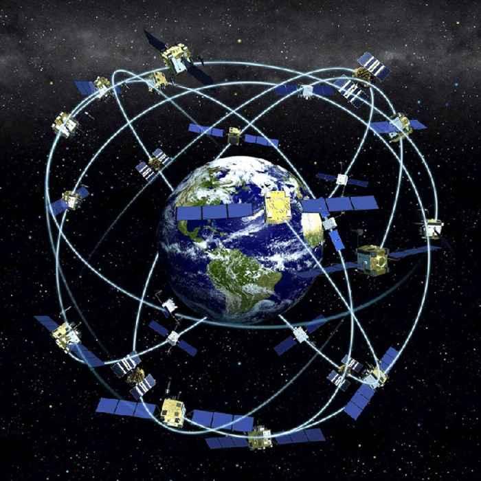 satélites de posicionamiento