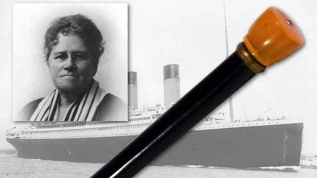 Ella White, el bastón y el Titanic