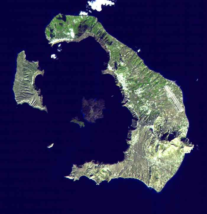 Isla Santorini