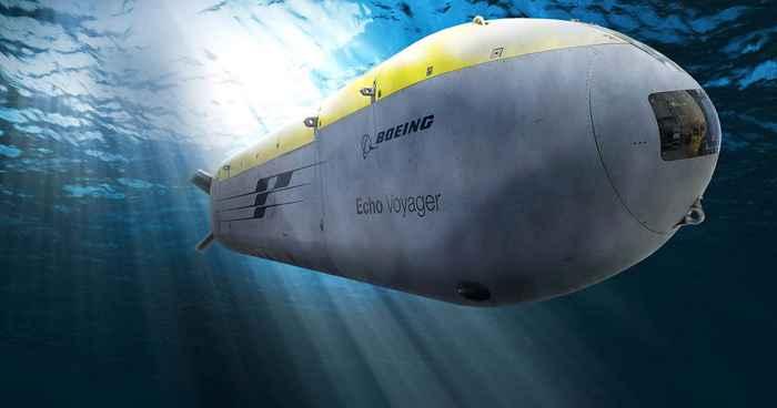 submarino no tripulado Echo Voyager