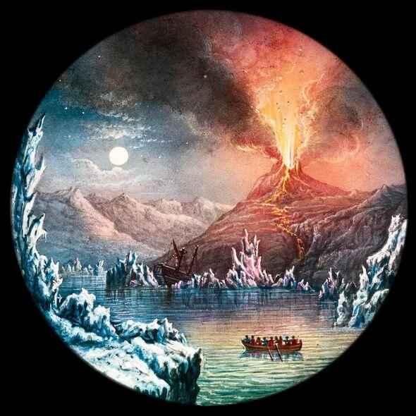 erupción del Hekla