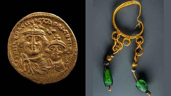 joyas encontradas en Heracleion