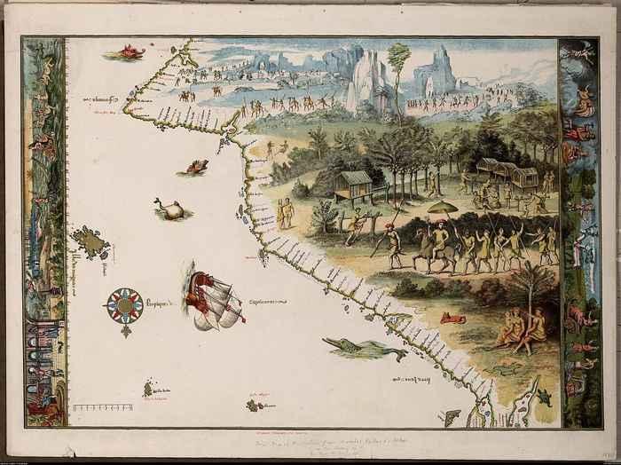 mapa Dieppe