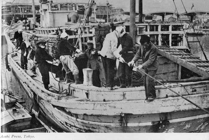 pesquero Lucky Dragon en marzo de 1954