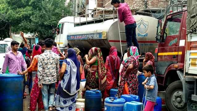 reparto de agua dulce