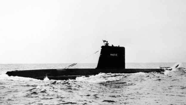submarino francés Minerve