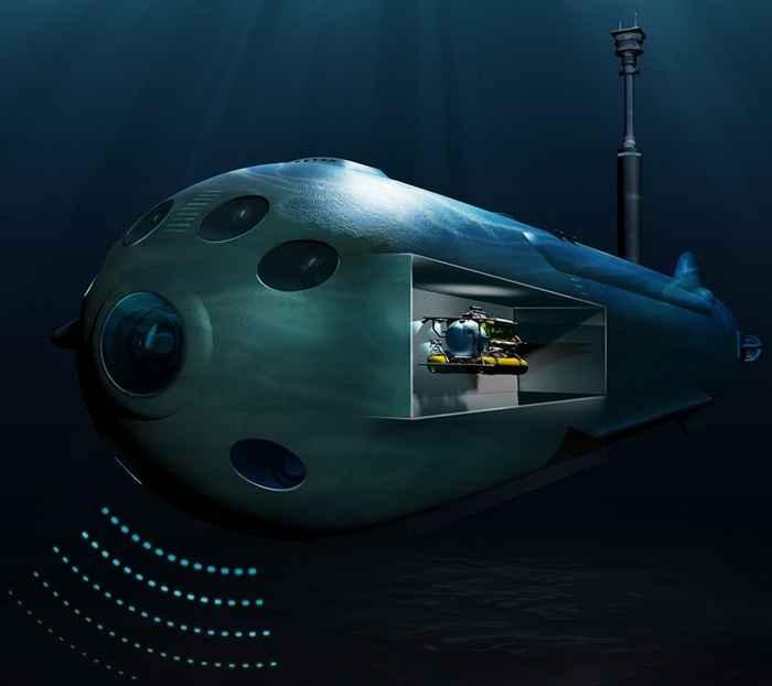 submarino no tripulado Orca