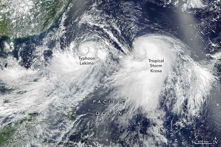 tifones Lakima y Krosa