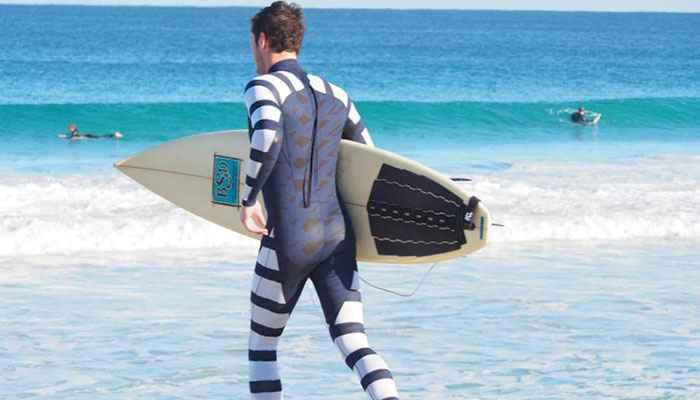 traje de camuflaje para tiburones