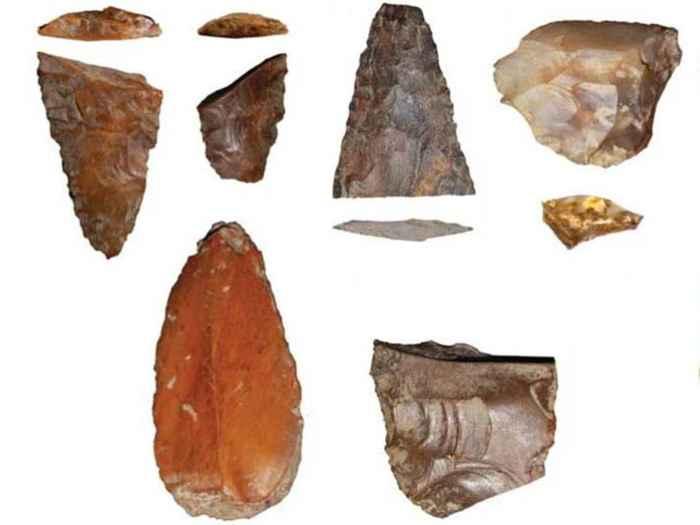 Herramientas de piedra halladas en Idaho