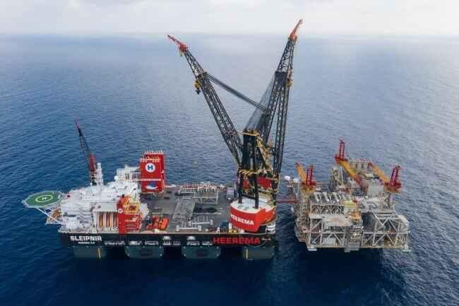 buque grúa SSCV Sleipnir