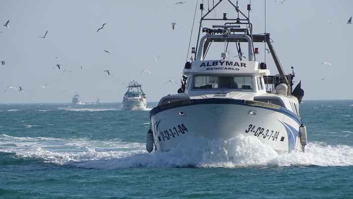 flota pesquera de Benicarló