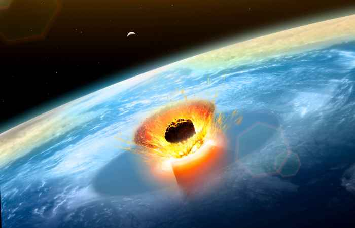 impacto del asteroide de Chicxulub