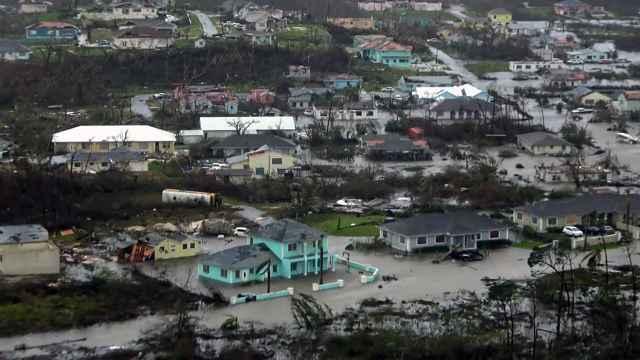 inundaciones en las islas Abacos