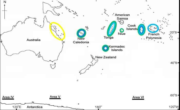 mapa de canciones de ballenas jorobadas
