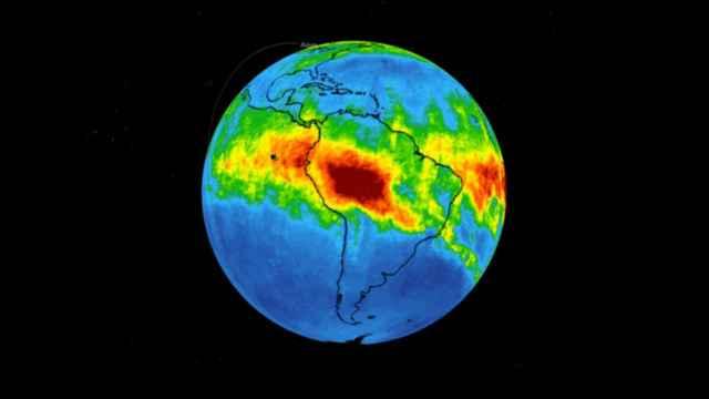 monóxido de carbono en la Amazonía brasileña