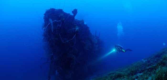 naufragio de la Segunda Guerra Mundial